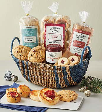 Deluxe Sweet Breakfast Sampler Basket
